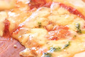 そば粉のピザ